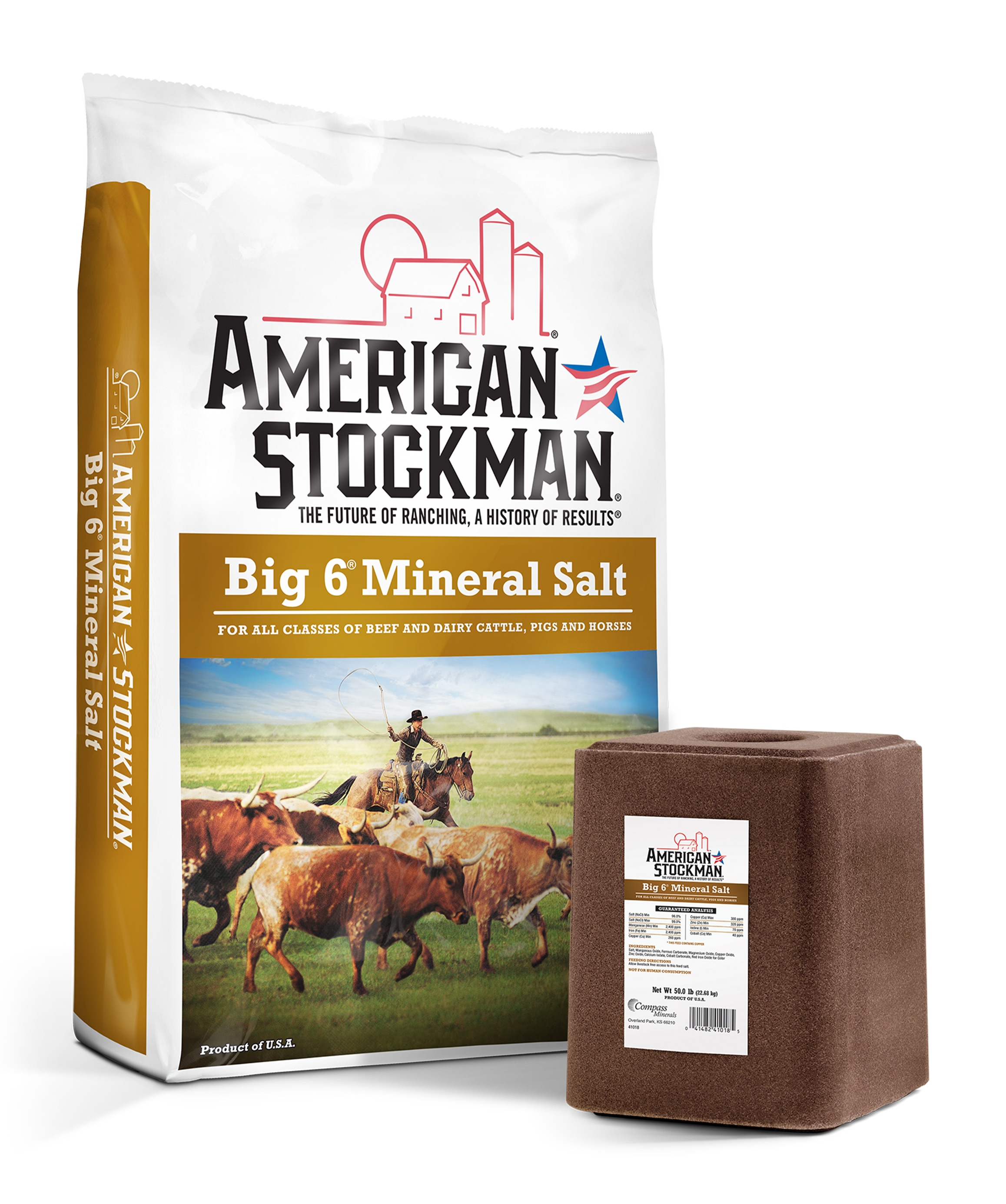 American Stockman® Big 6® Mineral Salt Bag
