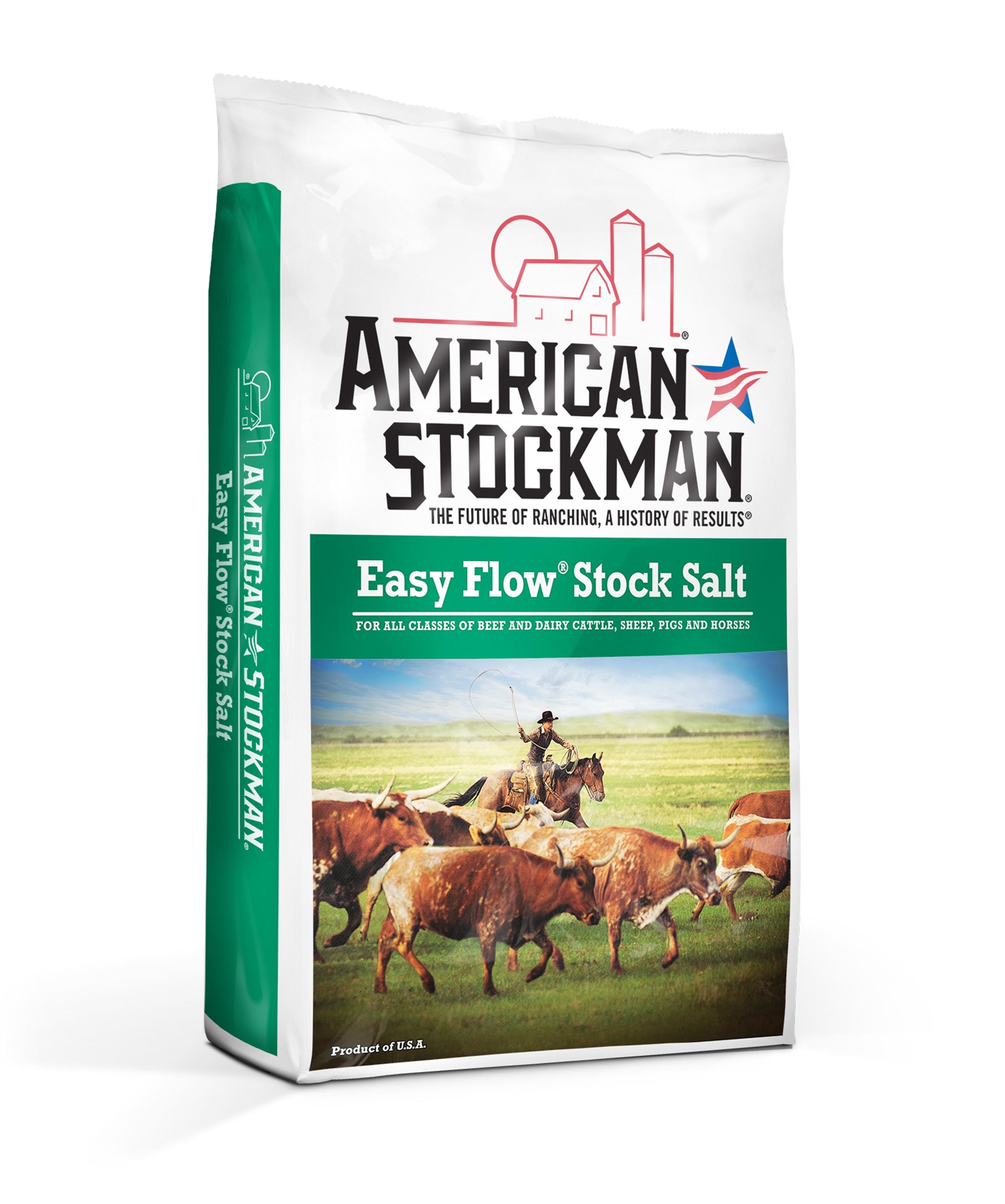 American Stockman® Easy Flow® Stock Salt Bag