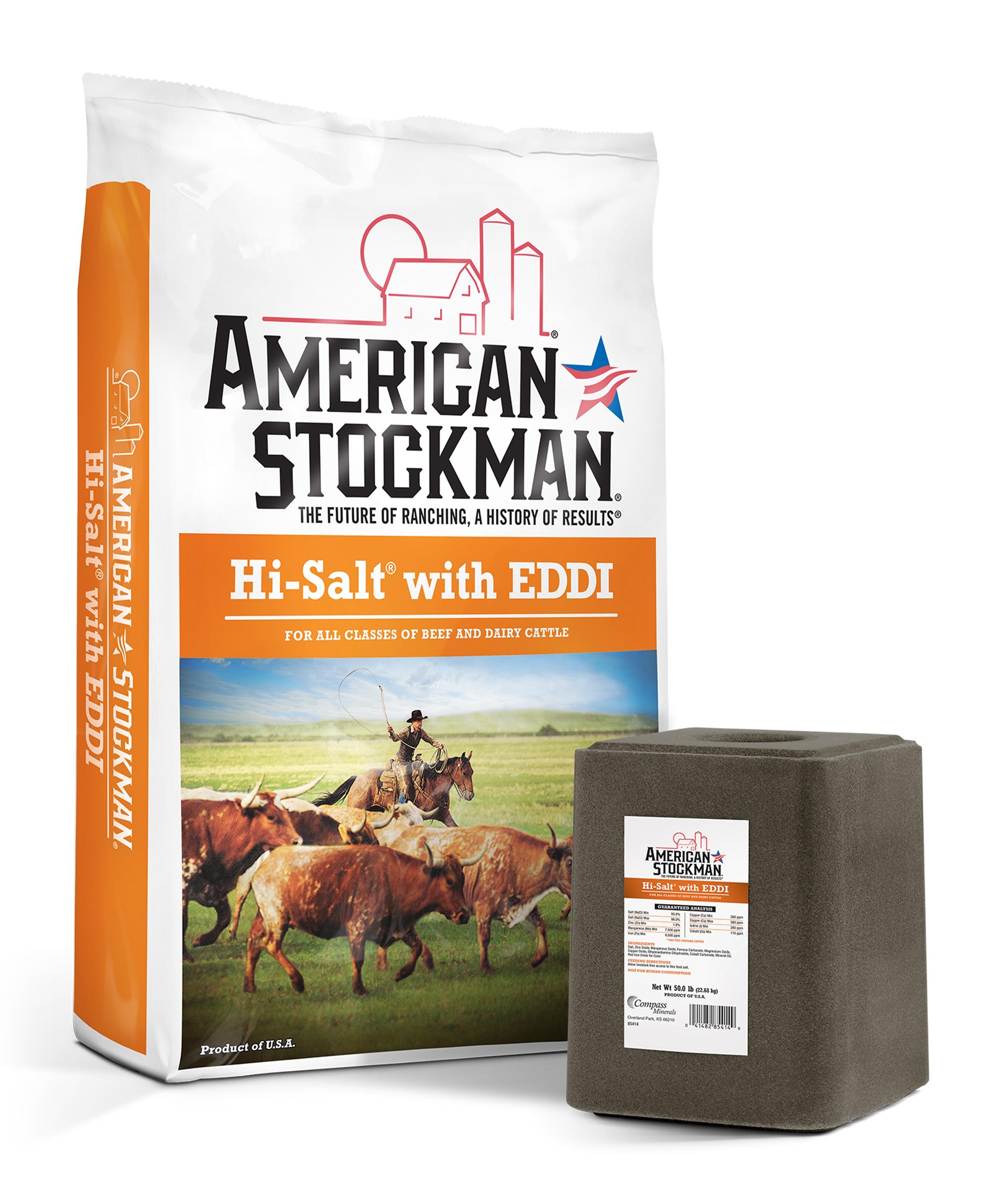 American Stockman® Hi-Salt® with EDDI Bag