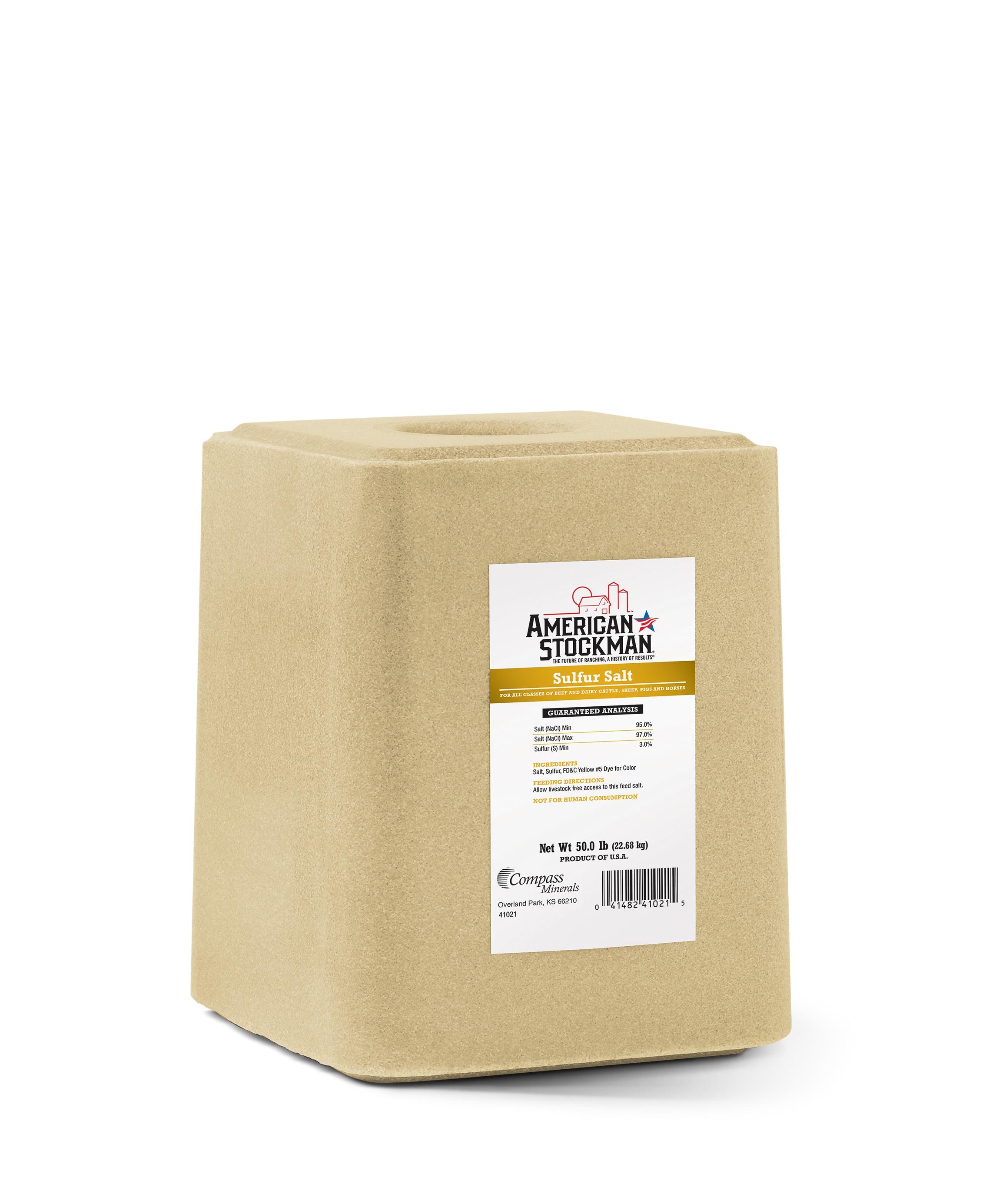 American Stockman® Sulfur Salt Bag