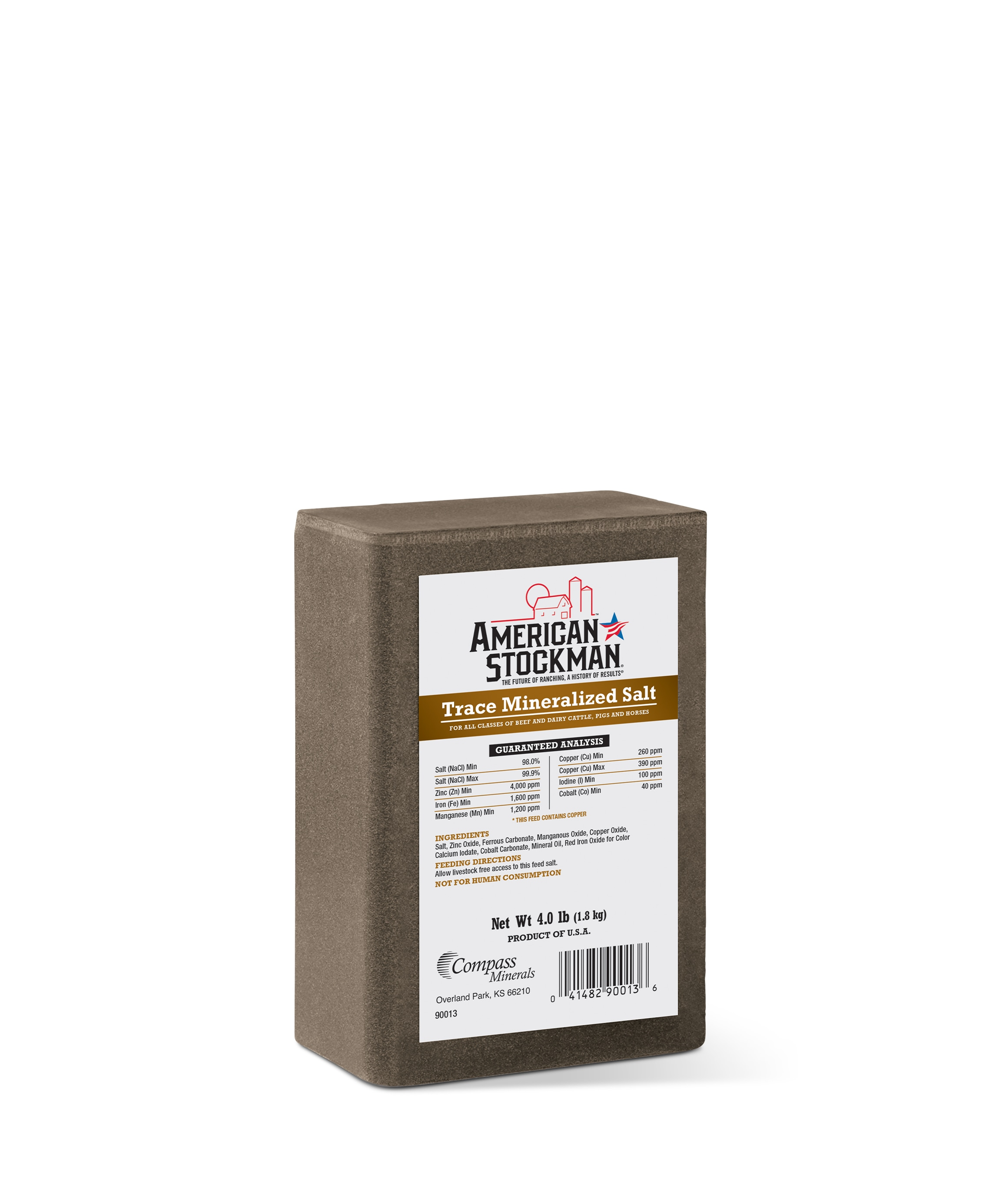 American Stockman® Trace Mineralized Salt Bag