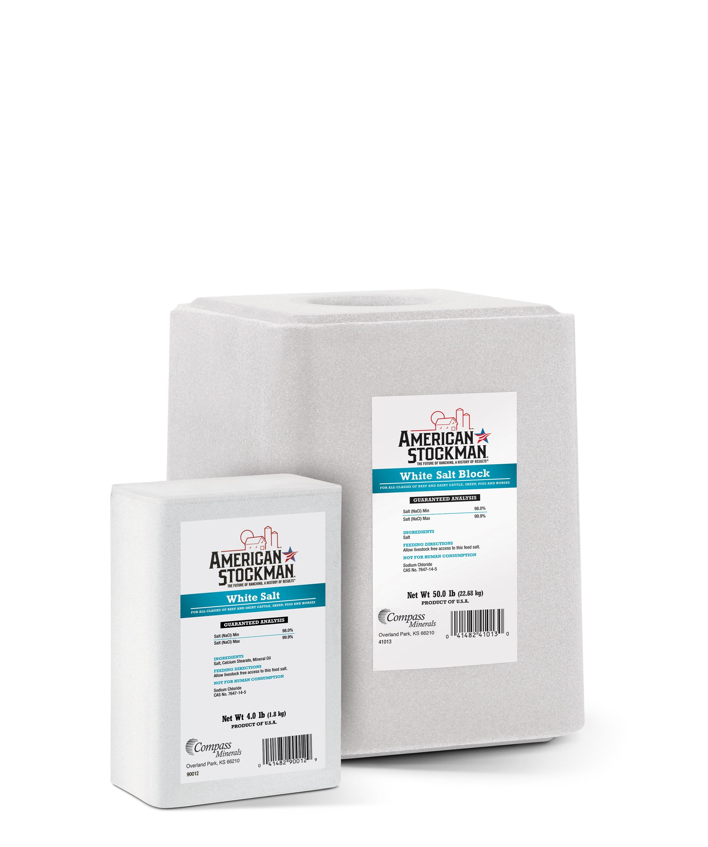 American Stockman® White Salt Bag