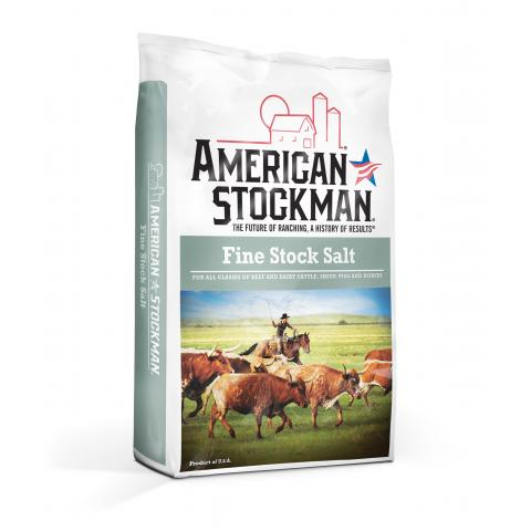 American Stockman® Fine Stock Salt Bag