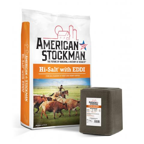 American Stockman® Hi-Salt® with EDDI Bag