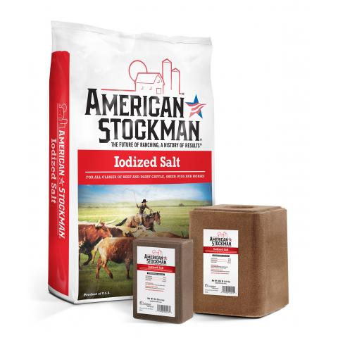American Stockman® Iodized Salt Bag